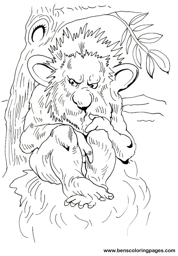 Colouring Pages For Trolls : Troll coloring pages for kids