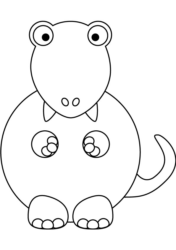 Baby T Rex Coloring Pages Coloring Pages