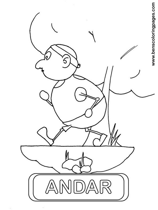 andar coloring picture