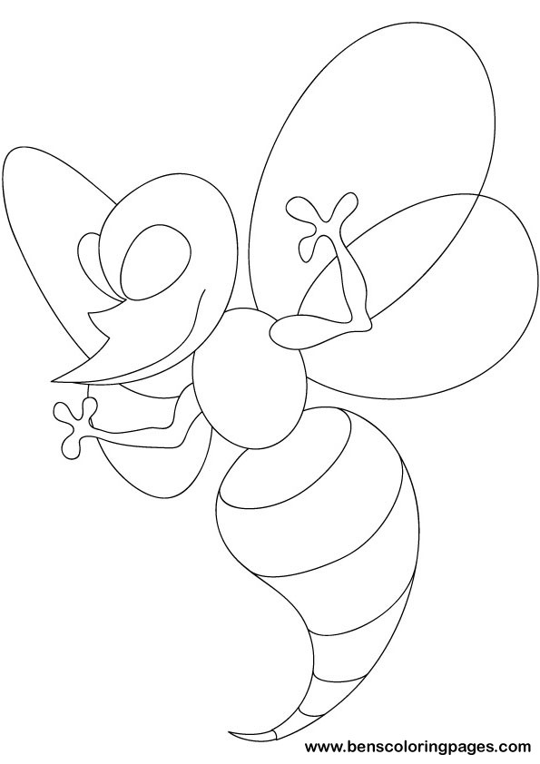 Wicky wasp coloring pages