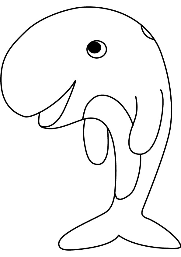 whale coloring pages kids - Coloring Picture Of A Whale