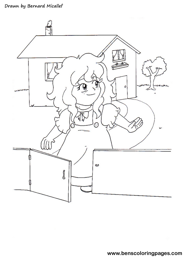 Goldilocks And The Three Bears Printable Coloring Pages