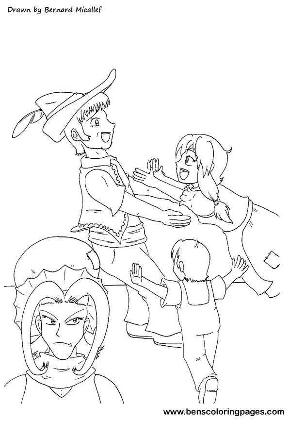 Hansel And Gretel Coloring Page Trapped Cage Pictures Hansel And Gretel Coloring Page