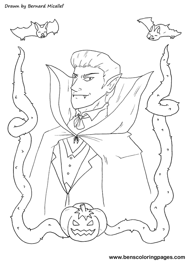halloween dracula picture