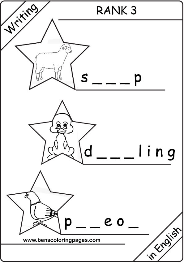 free esl coloring pages - photo#15