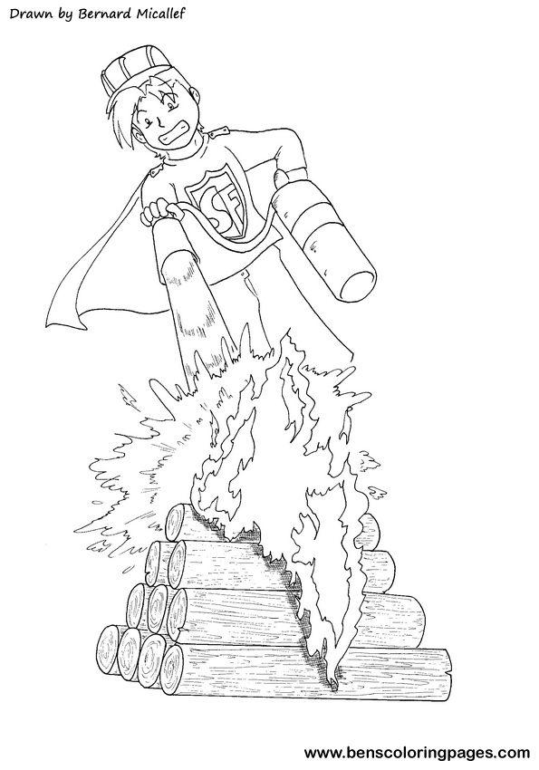 Fire Extinguisher Coloring Page Coloring Pages Extinguisher Coloring Page