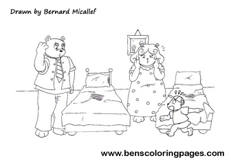 Goldilocks And The Three Bears Story Pg14