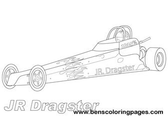 Free Printable Racing Cars Coloring Pages Freecoloring4u Com Drag Car Coloring Pages
